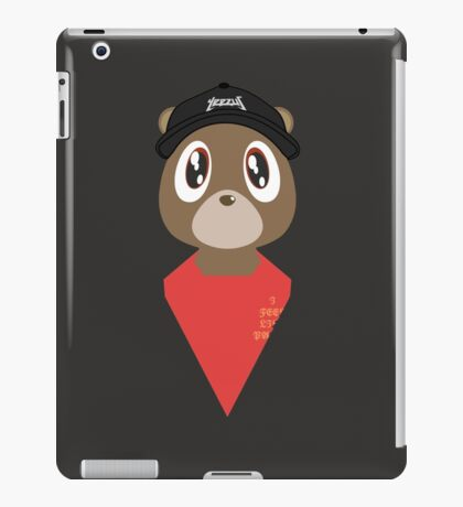 kanye west - pablo bear iPad Case/Skin