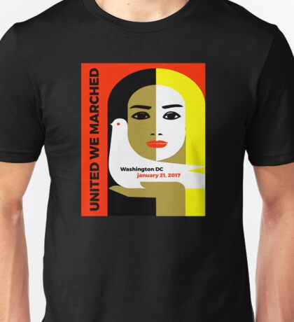 Women's March On Washington 2017 Collectible  Unisex T-Shirt