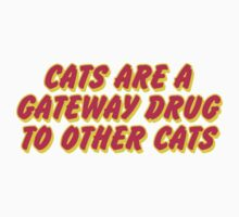 Cats Are A Gateway Drug To Other Cats One Piece - Short Sleeve