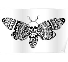 Afterlife Mandala Butterfly Poster