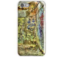 Face In The Corner iPhone Case/Skin