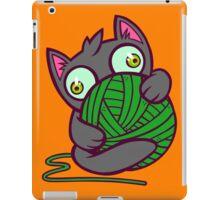 Kitty and Yarn iPad Case/Skin