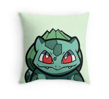 Bulbasaur Throw Pillow