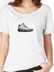 """Air Jordan III (3) """"Stealth"""" Women's Relaxed Fit T-Shirt"""