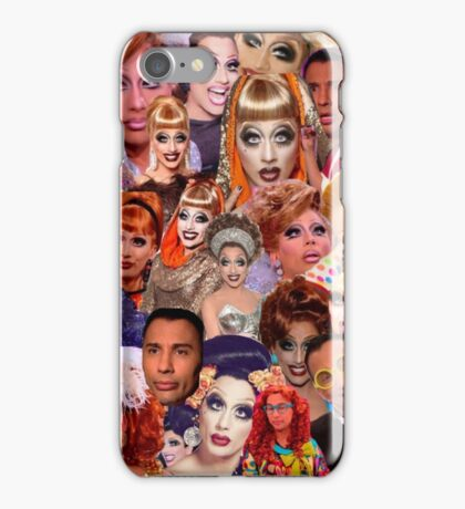 Bianca Del Rio Collage iPhone Case/Skin