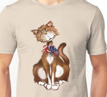 Old Fashion American Kitty Unisex T-Shirt