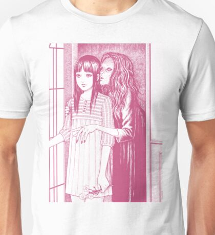 Whispering Woman ( Pink )  Unisex T-Shirt