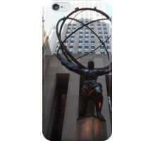 Rockefeller Center Sculpture and Architecture, Rockefeller Center, New York City  iPhone Case/Skin