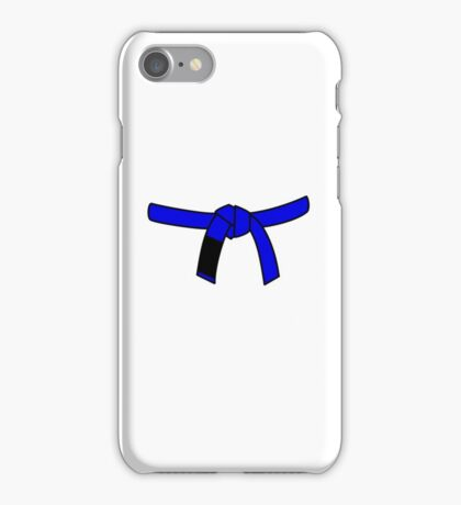 Brazilian Jiu Jitsu (BJJ) Blue Belt iPhone Case/Skin