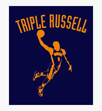 Triple Russell Photographic Print