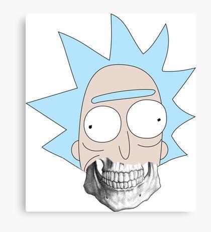 Scary Rick Canvas Print