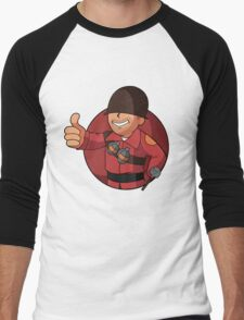 RED Soldier Men's Baseball ¾ T-Shirt