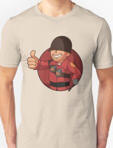 RED Soldier Unisex T-Shirt