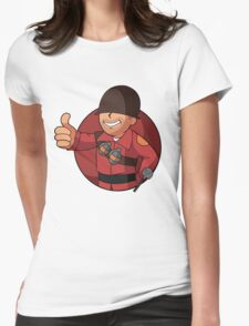 RED Soldier Womens Fitted T-Shirt