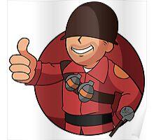 RED Vault Soldier Poster
