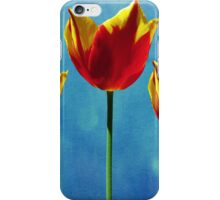 Painted Tulip Triplets iPhone Case/Skin