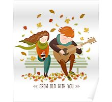 By your side, grow old with you Poster