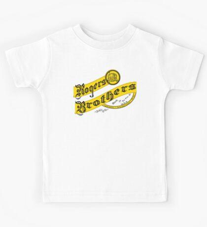 rogers bros monogram Kids Tee
