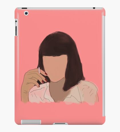 Mia pulp fiction iPad Case/Skin
