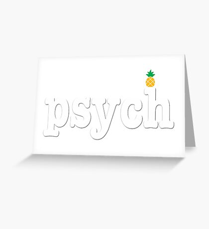 simply Psych Greeting Card