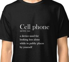 Definition cell phone Classic T-Shirt