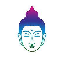 Face of Buddha by mayalenka