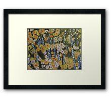 Lupine Forest Framed Print