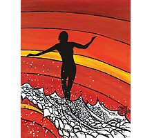 Glide Girl Photographic Print