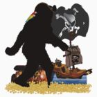 Gone Squatchin' Fer Buried Treasure  by Gravityx9