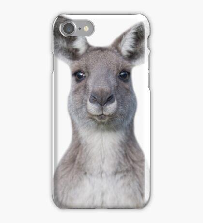 Cute baby kangaroo iPhone Case/Skin