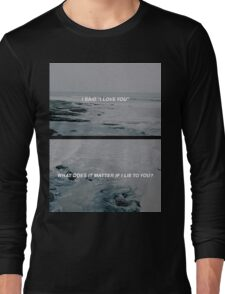 The Sound // The 1975 Long Sleeve T-Shirt