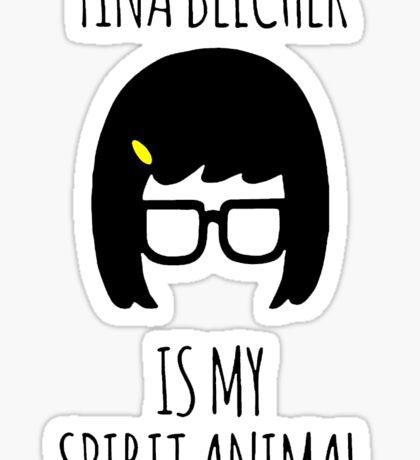 Tina Belcher Spirit Animal Sticker