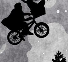 Xenomorph ET Moon Ride Sticker