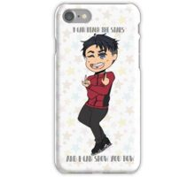 JJ W/background iPhone Case/Skin