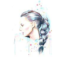 Fashion Illustration Photographic Print