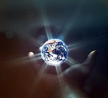 The World in the Palm of Your Hand. by eXparte-se