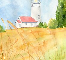 Cape Blanco Lighthouse, OR by Diane Hall