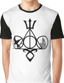 Symbol Harry Potter Graphic T-Shirt