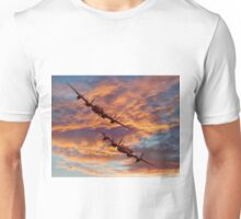 Out Of The Sunset - The 2 Lancasters Unisex T-Shirt