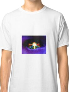 Digital Artwork | Alien Eye | High Contrast Classic T-Shirt