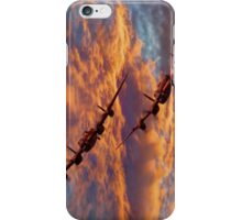 Out Of The Sunset - The 2 Lancasters iPhone Case/Skin