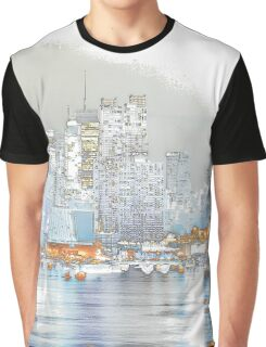 NYC Skyline Graphic T-Shirt