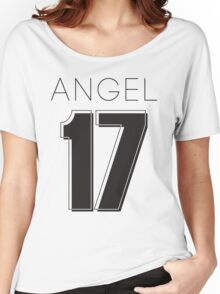 Angel Victoria 17 Text Typography Women's Relaxed Fit T-Shirt