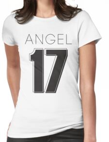 Angel Victoria 17 Text Typography Womens Fitted T-Shirt