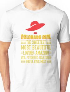 Colorado Girl Unisex T-Shirt