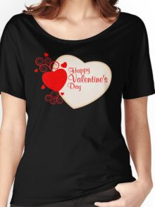 Happy Valentine's Day T-Shirt Women's Relaxed Fit T-Shirt