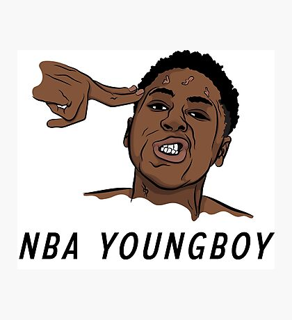 NBA Youngboy  Photographic Print