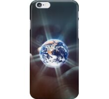 The World in the Palm of Your Hand. iPhone Case/Skin