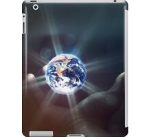 The World in the Palm of Your Hand. iPad Case/Skin