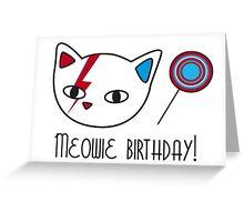 Meowie Birthday 2 Greeting Card